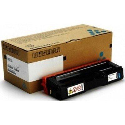Тонер-картридж для лазерных аппаратов Ricoh тип SP C252HE голубой (407717)Тонер-картриджи для лазерных аппаратов Ricoh<br>Принт-картридж тип SP C252HE (6K) голубой Ricoh SP C252DN/C252SF<br>