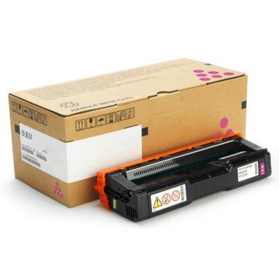 Тонер-картридж для лазерных аппаратов Ricoh тип SP C252HE малиновый (407718)Тонер-картриджи для лазерных аппаратов Ricoh<br>Принт-картридж тип SP C252HE (6K) малиновый Ricoh SP C252DN/C252SF<br>
