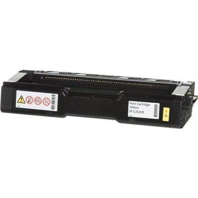 Тонер-картридж для лазерных аппаратов Ricoh тип SP C252HE желтый (407719) тонер картридж для лазерных аппаратов ricoh тип sp4100 407649