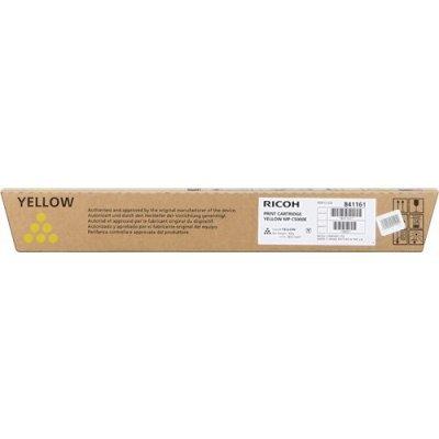 Тонер-картридж для лазерных аппаратов Ricoh тип MPC5501E желтый (842049)Тонер-картриджи для лазерных аппаратов Ricoh<br>Тонер-картридж тип MPC5501E желтый Aficio MP C4501/C5501 18К<br>