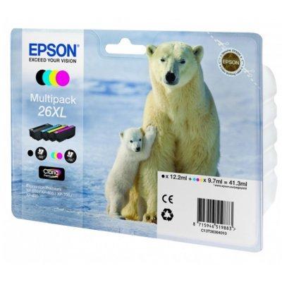 Картридж для струйных аппаратов Epson 26XL для XP-600/XP-700/XP-800 (C13T26364010) (C13T26364010)