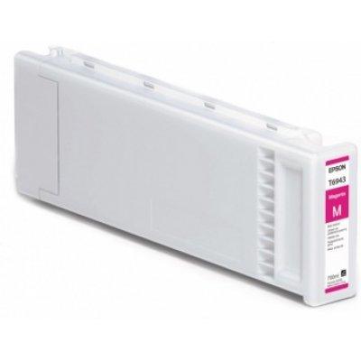 Картридж для струйных аппаратов Epson T6943 для SC-T3000/SC-T5000/SC-T7000 пурпурный (C13T694300) (C13T694300)Картриджи для струйных аппаратов Epson<br>Картридж EPSON T6943 пурпурный экстраповышенной емкости для SC-T3000/SC-T5000/SC-T7000<br>