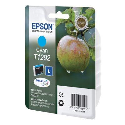 Картридж для струйных аппаратов Epson T1292 повышенной емкости для SX425/SX525/BX305/BX320/BX625 синий (C13T12924011) (C13T12924011)Картриджи для струйных аппаратов Epson<br>Картридж EPSON T1292 голубой повышенной емкости для SX425/SX525/BX305/BX320/BX625<br>