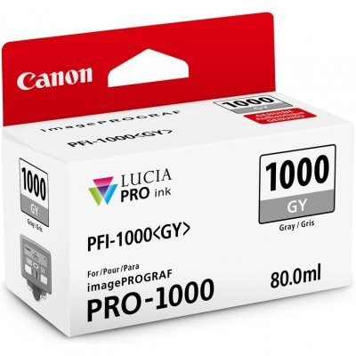 Картридж для струйных аппаратов Canon PFI-1000 GY для IJ SFP PRO-1000 WFG Серый (0552C001) (0552C001) new 455885 001 sfp 10g bcl sr 850nm module 456096 001