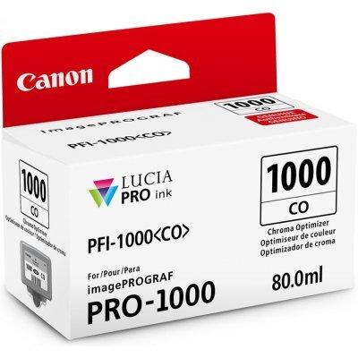 Картридж для струйных аппаратов Canon PFI-1000 CO для IJ SFP PRO-1000 WFG Chroma Optimizer (0556C001) (0556C001)Картриджи для струйных аппаратов Canon<br>Картридж Canon PFI-1000 CO для  IJ SFP PRO-1000 WFG. Chroma Optimizer. 80 мл.<br>
