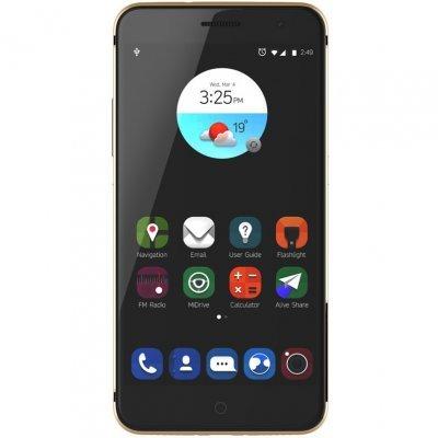 Смартфон ZTE Blade V7 золотистый (ZTE-BLADE.V7.GD)Смартфоны ZTE<br>Android 6.0, поддержка двух SIM-карт, экран 5.2, разрешение 1920x1080, камера 13 МП<br>