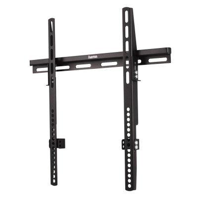 Кронштейн для ТВ и панелей настенный Hama H-12026 32-50 черный (12026)Кронштейн для ТВ и панелей Hama<br>Кронштейн для телевизора Hama H-12026 черный-50 макс.60кг настенный фиксированный<br>
