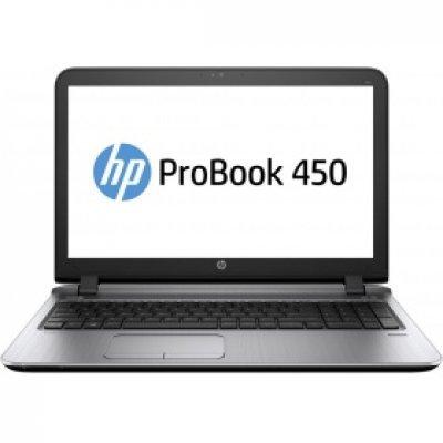 Ноутбук HP ProBook 450 G3 (W4P28EA) (W4P28EA)Ноутбуки HP<br>HP ProBook 450 G3 UMA i5-6200U DDR4 450 / 15.6 FHD SVA AG / 8GB DDR4 1D / 1TB 5400 / W7p64W10p / DVD+-RW / 1yw / Webcam / kbd TP / Intel AC 1x1+BT / FPR<br>