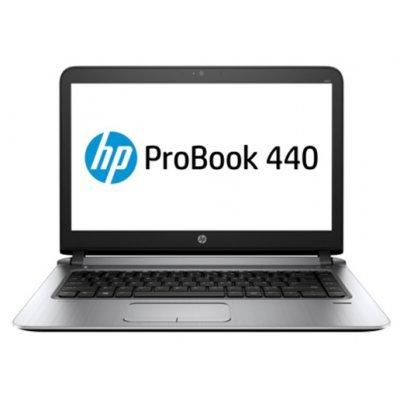 Ноутбук HP Probook 440 G3 (W4N86EA) (W4N86EA) ноутбук hp probook 440 14 1366x768 матовый i3 6100u 2 3ghz 4gb 500gb hd520 bluetooth wi fi win7pro win10pro серебристо черный p5r31ea