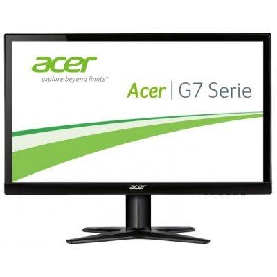 Монитор Acer 23.8 G247HYLbidx (UM.QG7EE.010) черный (UM.QG7EE.010)Мониторы Acer<br>ЖК-монитор с диагональю 23.8<br>тип матрицы экрана TFT IPS<br>разрешение 1920x1080 (16:9)<br>подключение: VGA, DVI, HDMI<br>яркость 250 кд/м2<br>время отклика 4 мс<br>
