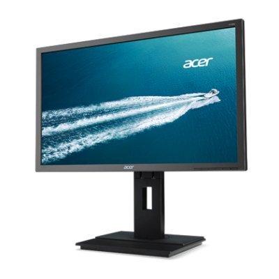 Монитор Acer 23.8 B246HYLAymdpr (UM.QB6EE.A05) темно-серый (UM.QB6EE.A05)Мониторы Acer<br>ACER 23.8 B246HYLAymdpr IPS LED, 1920x1080, 6ms, 250cd/m2, 178°/178°, 100M:1, D-Sub, DVI, DisplayPort, Swivel, Pivot, регулировка по высоте, колонки, TCO 6.0, Darkgrey Matt<br>