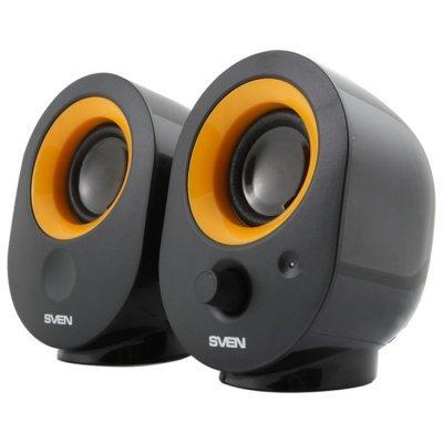 Акустическая система SVEN 316 чёрный (SV-0120316BL) колонки sven 355 5 вт чёрный