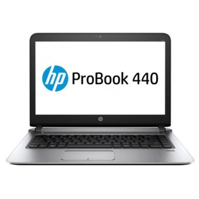 Ноутбук HP ProBook 440 G3 (W4N97EA) (W4N97EA)Ноутбуки HP<br>HP ProBook 440 G3 14(1920x1080 (матовый))/Intel Core i7 6500U(2.5Ghz)/8192Mb/256SSDGb/noDVD/Int:Intel HD Graphics 520/Cam/BT/WiFi/44WHr/war 1y/1.68kg/Metallic Grey/W7Pro + W10Pro key<br>