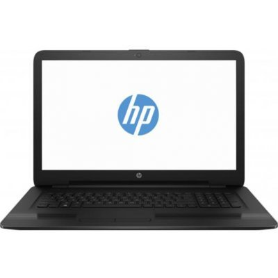 Ноутбук HP 17-y003ur (W7Y97EA) (W7Y97EA)Ноутбуки HP<br>HP17-y003ur 17.3(1600x900)/AMD A6 7310(2.4Ghz)/4096Mb/1000Gb/DVDrw/Int:AMD Radeon R2/Cam/BT/WiFi/41WHr/war 1y/2.65kg/jack black/W10<br>