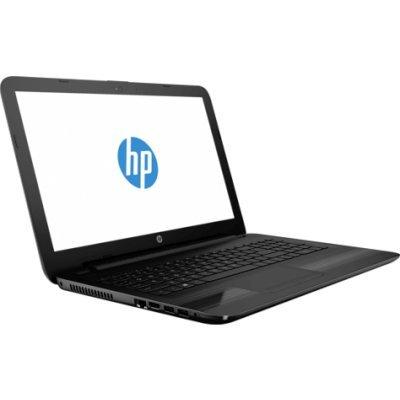 Ноутбук HP 15-ba006ur (X0M79EA) (X0M79EA)Ноутбуки HP<br>HP15-ba006ur 15.6(1366x768)/AMD E-Series E2-7110(1.8Ghz)/4096Mb/500Gb/noDVD/Int:Shared/Cam/BT/WiFi/41WHr/war 1y/2.04kg/jack black/DOS<br>