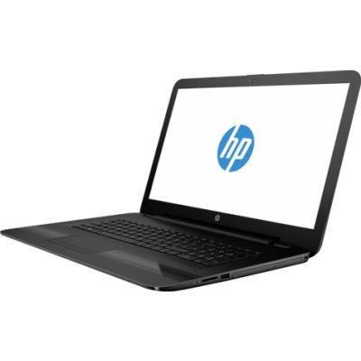 Ноутбук HP 17-y018ur (X5X12EA) (X5X12EA)Ноутбуки HP<br>HP17-y018ur 17.3(1600x900)/AMD E-Series E2-7110(1.8Ghz)/4096Mb/1000Gb/DVDrw/Int:AMD Radeon R2/Cam/BT/WiFi/41WHr/war 1y/2.65kg/jack black/DOS<br>