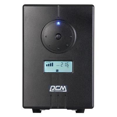 Источник бесперебойного питания Powercom INF-500 (INF-500)Источники бесперебойного питания Powercom<br>Powercom UPS Infinity INF-500, black, 500VA/300Wt<br>