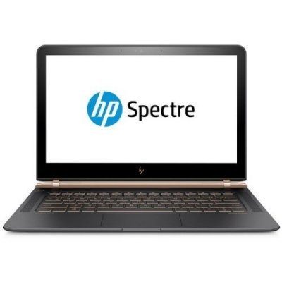 Ультрабук HP Spectre 13-v007ur (X5B67EA) (X5B67EA)Ультрабуки HP<br>HP Spectre 13 13-v007ur 13.3(1920x1080)/Intel Core i7 6500U(2.5Ghz)/8192Mb/512SSDGb/noDVD/Int:Intel HD Graphics 520/Cam/BT/WiFi/38WHr/war 3y/1.11kg/W10 + Чехол; Адаптер USB,самый тонкий<br>