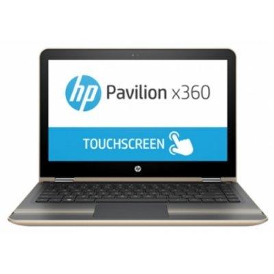 Ультрабук-трансформер HP Pavilion x360 13-u002ur (W7R60EA) (W7R60EA)Ультрабуки-трансформеры HP<br>HP Pavilion 13x360 13-u002ur 13.3(1920x1080)/Touch/Intel Core i5 6200U(2.3Ghz)/4096Mb/128SSDGb/noDVD/Int:Intel HD Graphics 520/Cam/BT/WiFi/41WHr/war 1y/1.58kg/modern gold/W10 + трансформер<br>