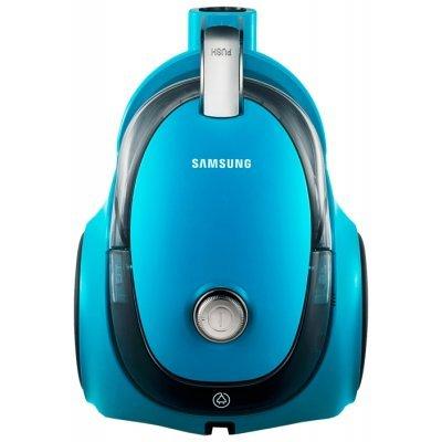 Пылесос Samsung VC18AVNMANC Бирюзовый (VC18AVNMANC)Пылесосы Samsung<br>пылесос<br>сухая уборка<br>с циклонным фильтром<br>без мешка для сбора пыли<br>мощность всасывания 360 Вт<br>пылесборник на 1.5 л<br>работа от сети<br>потребляемая мощность 1800 Вт<br>вес 5.8 кг<br>