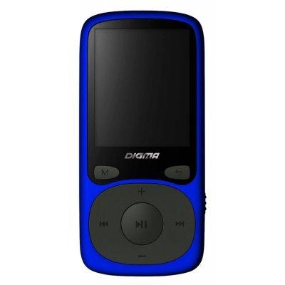 Цифровой плеер Digma B3 8Gb синий (B3BL) digma first xs350 2g