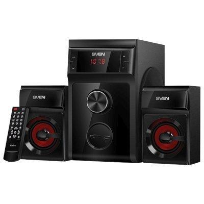 Компьютерная акустика SVEN MS-302 чёрные (SV-013554) компьютерная акустика sven ms 90 черный sv 012861