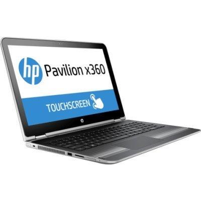 Ультрабук-трансформер HP Pavilion 15-bk004ur (X0M81EA) (X0M81EA)Ультрабуки-трансформеры HP<br>HP Pavilion 15x360 15-bk004ur 15.6(1366x768)/Touch/Intel Pentium 4405U(2.1Ghz)/6144Mb/500Gb/noDVD/Int:Intel HD Graphics 520/Cam/BT/WiFi/48WHr/war 1y/2.3kg/natural silver/W10 + трансформер<br>