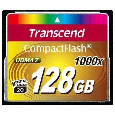 Карта памяти Transcend 128Gb Compact Flash TS128GCF1000 128 Gb (TS128GCF1000)