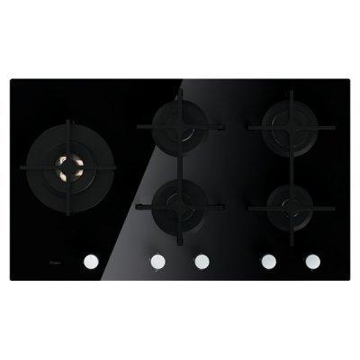 Газовая варочная панель Whirlpool GOA 9523/NB черный (GOA 9523/NB)Газовые варочные панели Whirlpool<br>газовая варочная панель<br>поверхность из закаленного стекла<br>5 газовых конфорок<br>трехконтурная конфорка<br>переключатели поворотные<br>электроподжиг<br>независимая установка<br>габариты (ШхГ) 86x51 см<br>