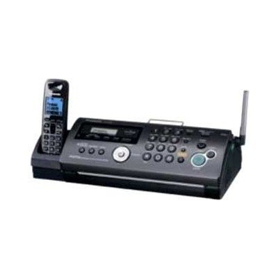Факс Panasonic KX-FС268RU (KX-FС268RU-T)Факсы Panasonic<br>факс/копир с печатью на листах<br>печать методом термопереноса<br>модем 9.6 кбит/с<br>беспроводная трубка<br>