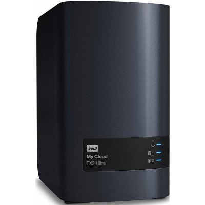 Сетевой накопитель NAS Western Digital My Cloud EX2 Ultra 4TB WDBSHB0040JCH-EEUE (WDBSHB0040JCH-EEUE)Сетевые накопители NAS Western Digital<br>Система хранения данных 2BAY 2X2TB WDBSHB0040JCH-EEUE WDC<br>