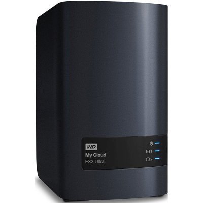 Сетевой накопитель NAS Western Digital My Cloud EX2 Ultra 2-bay WDBSHB0000NCH-EEUE (WDBSHB0000NCH-EEUE)Сетевые накопители NAS Western Digital<br>Система хранения данных 2BAY NO HDD WDBSHB0000NCH-EEUE WDC<br>