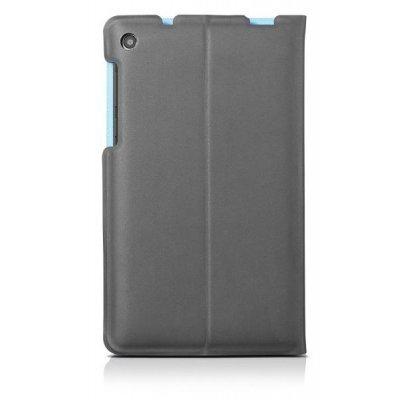 цена на Чехол для планшета Lenovo Tab 3 TB3-730X Folio Case and Film (Gray-WW) (ZG38C01054) (ZG38C01054)
