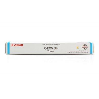 Фотобарабан Canon С-EXV 34 голубой (3787B003AA 000)Фотобарабаны Canon<br>Барабан CANON С-EXV 34 для IR ADV C2020/2030 Cyan<br>