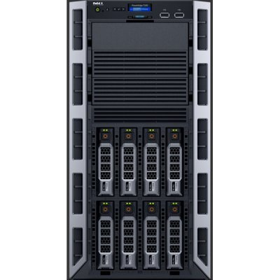Сервер Dell PowerEdge T330 (T330-AFFQ-001) (T330-AFFQ-001)Серверы Dell<br>Tower/ E3-1225v5/ 1x8Gb UDIMM(2133)/ H330/ 1x1Tb SATA 7.2k LFF/ UpTo8LFF HotPlug/ DVDRW/ iDRAC8 Ent/ 2xGE/ 1xRPS495W(2up)/ Bezel/ 3YBWNBD<br>