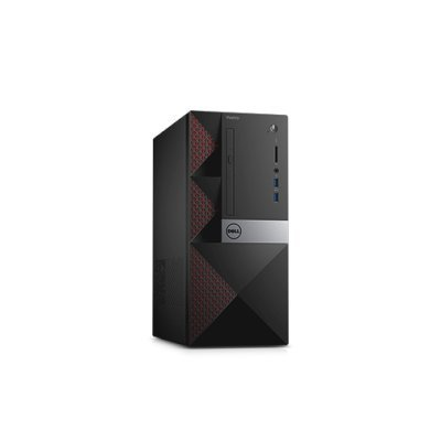 Настольный ПК Dell Vostro 3650 (3650-0311) (3650-0311)Настольные ПК Dell<br>MT / / i3-6100 (3,7GHz) / 4GB (1x4GB) / 500GB (7200 rpm) / Nvidia GF 705 (2GB) / W7 Pro 64 (Win10 Pro License) / MCR<br>