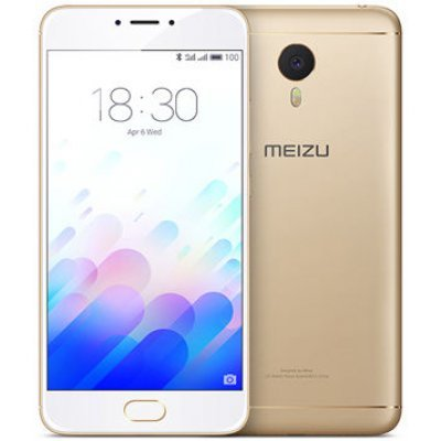 Смартфон Meizu M3 Note 16GB золотистый/белый (L681H-16-GW)Смартфоны Meizu<br>ОС Android 5.1, экран: 5.5 дюйма, LTPS, 1920?1080, процессор: MediaTek Helio P10, 1800МГц, 8-ми ядерный, камера: 13Мп, GPS, ГЛОНАСС<br>