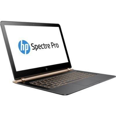 Ультрабук HP Spectre Pro 13 G1 (X2F01EA) (X2F01EA)Ультрабуки HP<br>Core i5-6200U 2.3GHz,13.3 FHD BV LED Cam,8GB DDR3L(Total),256GB SSD,WiFi,BT,4CCL,1.16kg,1y,Win10Pro(64)<br>