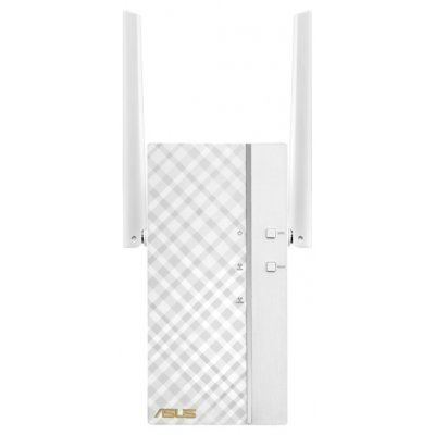 Wi-Fi точка доступа ASUS RP-AC66 (RP-AC66)Wi-Fi точки доступа ASUS<br>RP-AC66 Dual-band wireless AC1750 wall-plug Range Extender: 802.11ac, 1300Mbps (5GHz), 802.11n, 450Mbps (2.4GHz)<br>