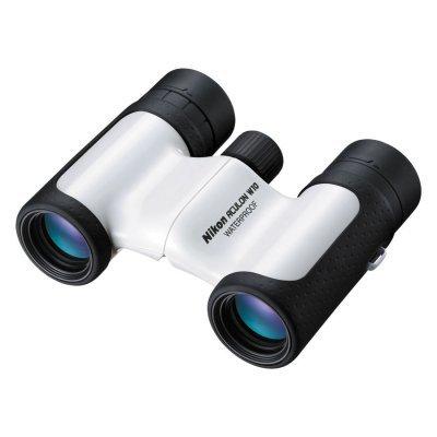 Бинокль Nikon 10x 21мм Aculon W10 белый (BAA847WB) (BAA847WB)