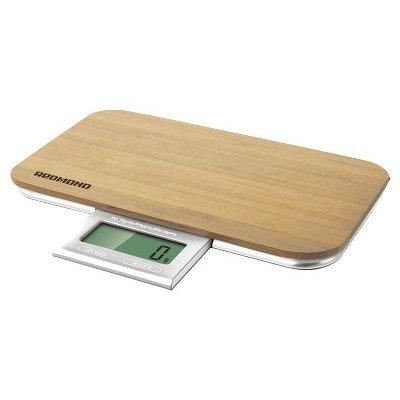Весы кухонные Redmond RS-721 светло-коричневый (RS-721 (WOOD)) весы кухонные электронные redmond rs 724