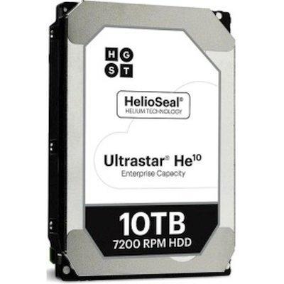 Жесткий диск серверный Hitachi HUH721010ALE604 10Tb (0F27454)Жесткие диски серверные Hitachi<br>Жесткий диск HGST SATA-III 10Tb HUH721010ALE604 Ultrasta HE10 (7200rpm) 256Mb 3.5<br>