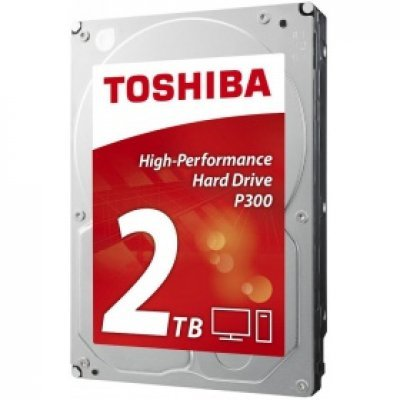 Жесткий диск ПК Toshiba 2Tb HDWD120EZSTA (HDWD120EZSTA)Жесткие  диски ПК Toshiba<br>жесткий диск для настольного компьютера линейка P300 объем 2000 Гб форм-фактор 3.5 интерфейс SATA 6Gb/s<br>