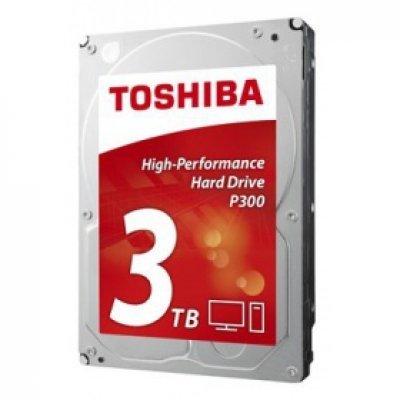 Жесткий диск ПК Toshiba 3Tb HDWD130EZSTA (HDWD130EZSTA)Жесткие  диски ПК Toshiba<br>жесткий диск для настольного компьютера линейка P300 объем 3000 Гб форм-фактор 3.5 интерфейс SATA 6Gb/s<br>
