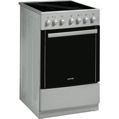 Электрическая плита Gorenje EC52203AS0 серебристый (EC52203AS0)