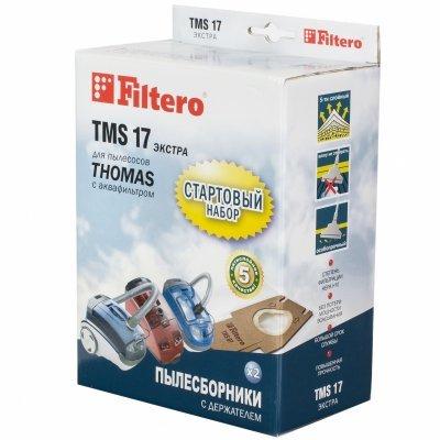 Пылесборник для пылесоса Filtero TMS 17 (TMS 17 (2+1) СТАРТОВЫЙ)Пылесборники для пылесосов Filtero<br>Пылесборники Filtero TMS 17 Стартовый пятислойные (2пылесбор.) (1фильт.)<br>