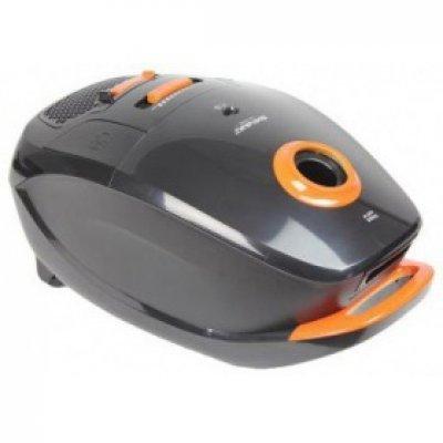 Пылесос Shivaki SVC-1441 черный/оранжевый (SVC-1441BLK) пылесос zelmer zvc762zpru с мешком сухая влажная уборка 1500вт серо оранжевый vc7920 5sp
