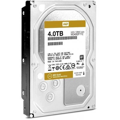 Жесткий диск серверный Western Digital 4000Gb WD4002FYYZ (WD4002FYYZ) жесткий диск 4tb western digital gold wd4002fyyz