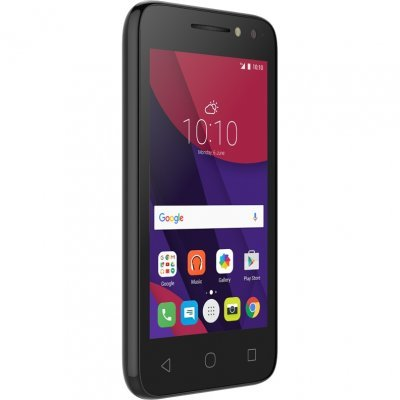 Смартфон Alcatel PIXI 4 4034D черный (4034DVOLCANO/BLACK)Смартфоны Alcatel<br><br>