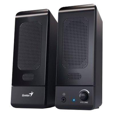Компьютерная акустика Genius SP-U120 черный (SP-U120)Компьютерная акустика Genius<br>компьютерная акустика стерео<br>суммарная мощность 3 Вт<br>однополосные колонки<br>материал корпуса колонок: пластик<br>питание от USB<br>диапазон частот 160 - 20000 Гц<br>разъем для наушников<br>